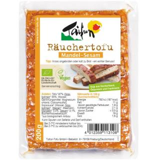 Räuchertofu Mandel-Sesam