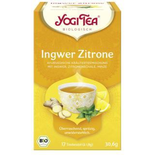 Yogi Tee Ingwer-Zitrone