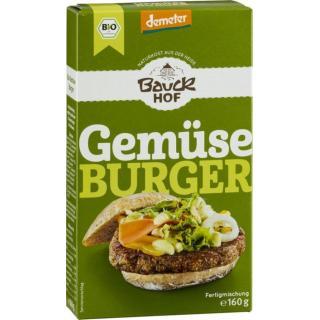 Gemüse-Burger-Mischung