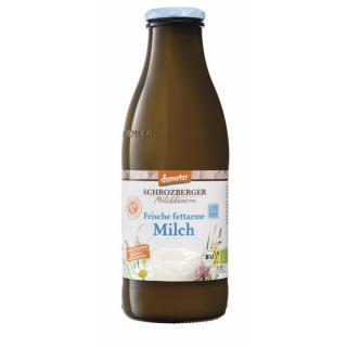 Fettarme Milch min. 1,5 % Fett