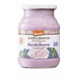 Joghurt Heidelbeer