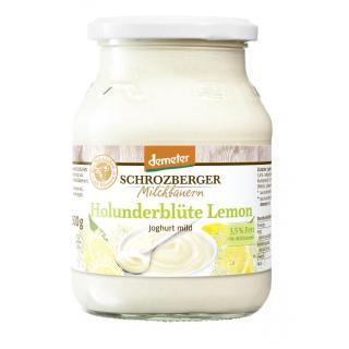 Joghurt Holunderblüte-Lemon 3,5%