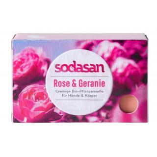 Seife Rose & Geranie
