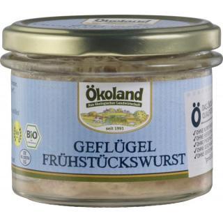 Geflügel Frühstückswurst