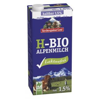 Lactosefreie H-Milch 1,5%