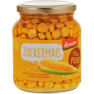 Zuckermais i. Glas