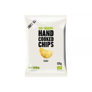 Kartoffel Chips Meersalz Handcooked
